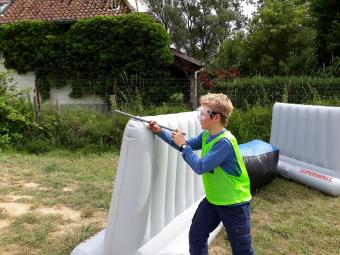 Sportdag Blowball with Dijle Floats