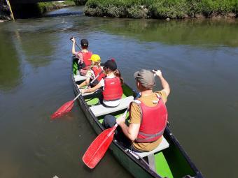 Vijf Jaar Dijle Floats Feest, Kano op 3, 4 en 5 april