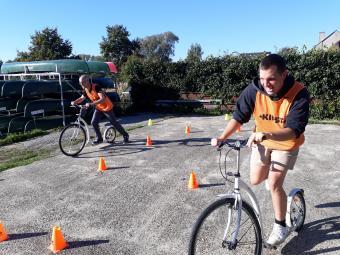 Zes-kamp Teambuilding te Oud-Heverlee