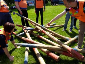 Fun Games Teambuilding te Oud-Heverlee