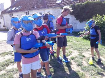 Vijf Jaar Dijle Floats Feest, Kinder Paintball op vrijdag 3 april 2020