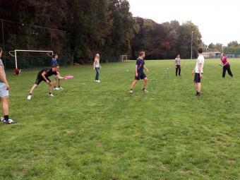 Frisbee Initiatie voor bedrijven
