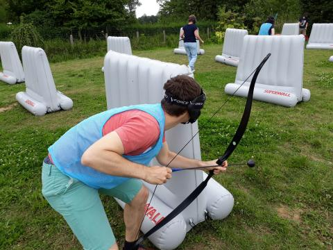 Archery tag @ Dijle Floats