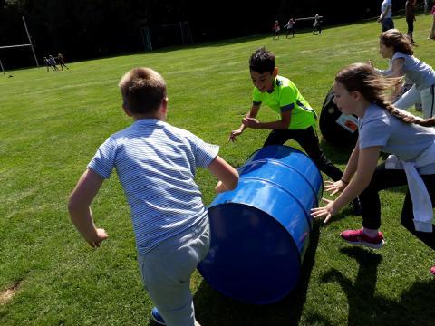 Sportdag Module Ton Rollen & Lopen