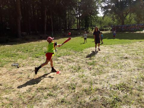 Teamsporten trio honkbal, tag-rugby en rugby-voetbal