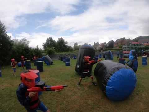 Paintbal Feestje Oud-Heverlee, Dijle Floats Paintball for Kids