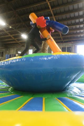 Inflatable Battle Games Verjaardagsfeestje te Oud-Heverlee