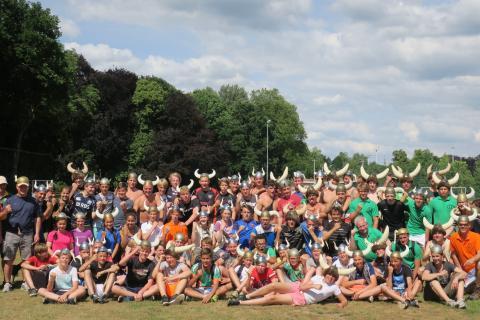 Sportdag Viking Games voor scholen