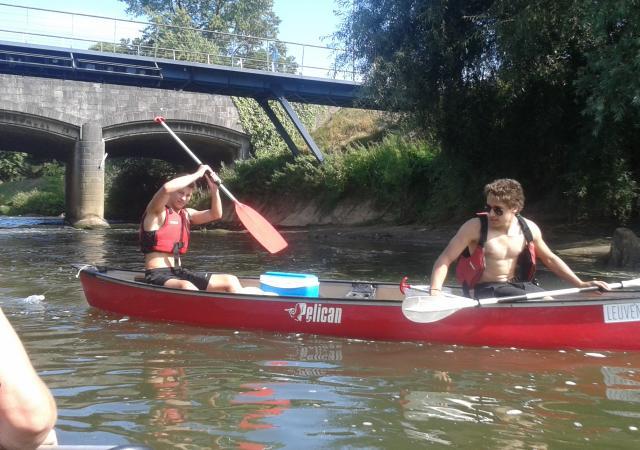 Kano op de Demer