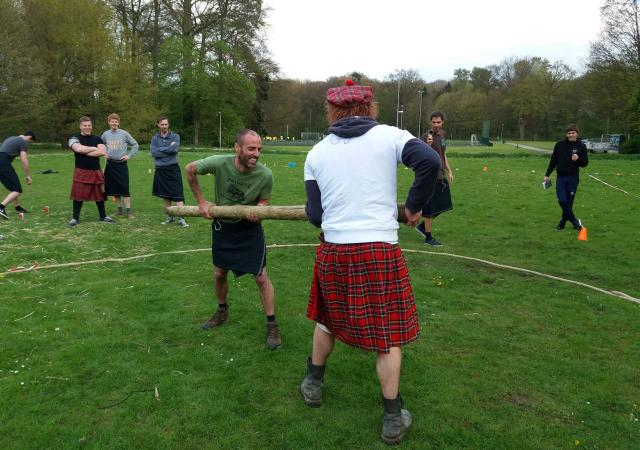 Highland Games by Dijle Floats