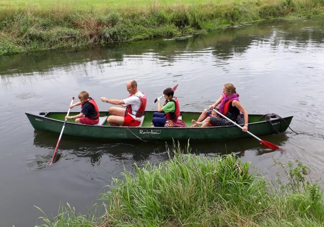 Kano op de Dijle van Korbeek-dijle tot Heverlee By Dijle Floats