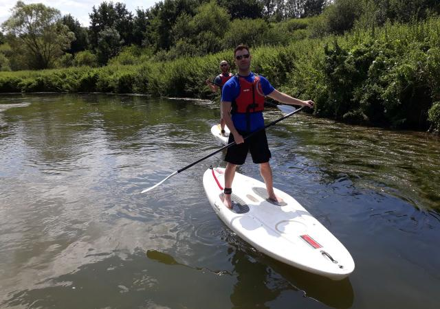 SUP van de Dijle by Dijle Floats