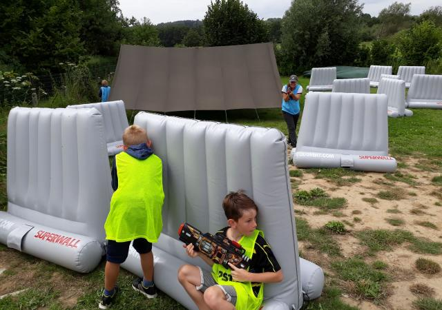 Laser Tag Verhuur with Dijle Floats