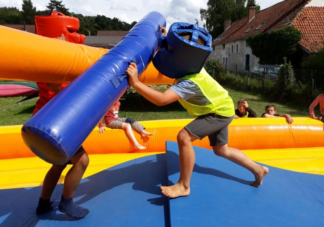 Gladiatorenbattle bij Dijle Floats