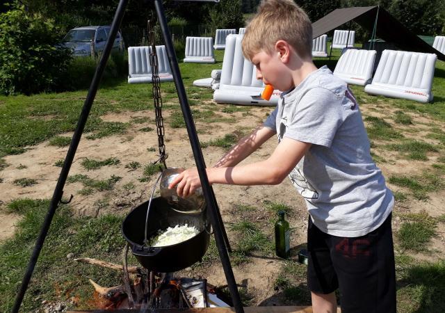 Avontuur & Water Kamp by Dijle Floats