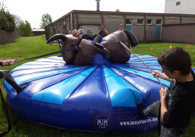 sportdag Module Inflatable Games te Oud-Heverlee