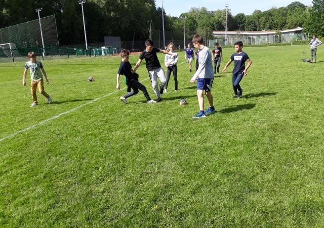 Sportdag Module Rugby-voetbal
