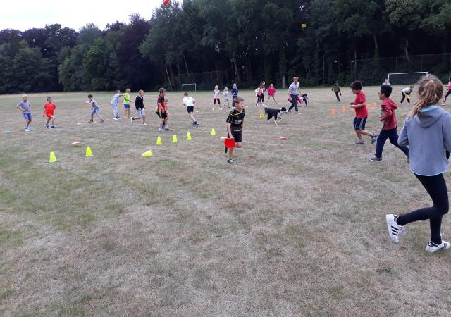 Sportdag op School Lager Onderwijs bij Dijle Floats
