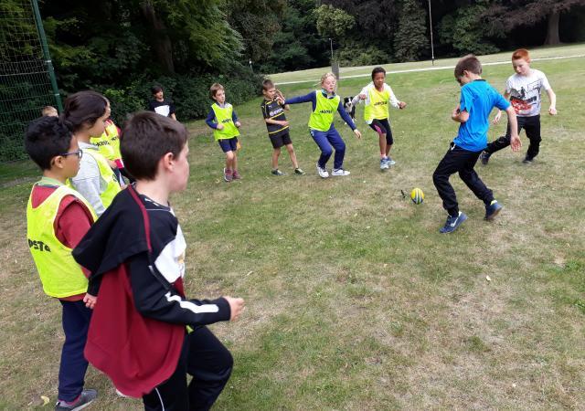 Sportdag Module Rugby-voetbal te Oud-Heverlee
