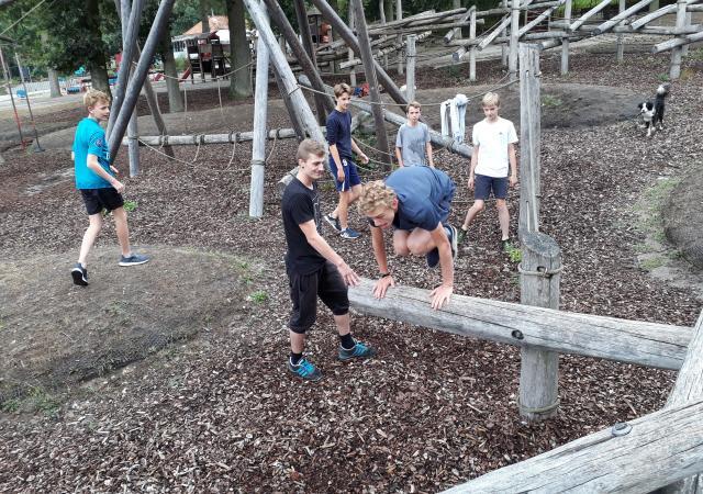 Sportdag op School Secundair Onderwijs bij Dijle Floats
