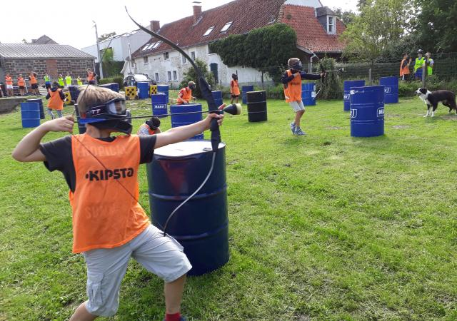 Vijf Jaar Dijle Floats Feest, Archery Tag op Zaterdag 4 april 2020