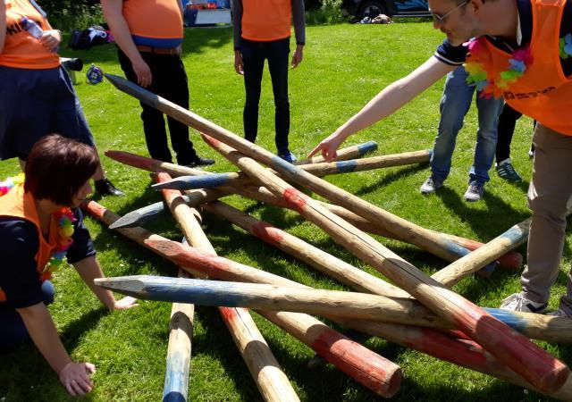 Teambuildings Spelen voor bedrijven te Oud-Heverlee