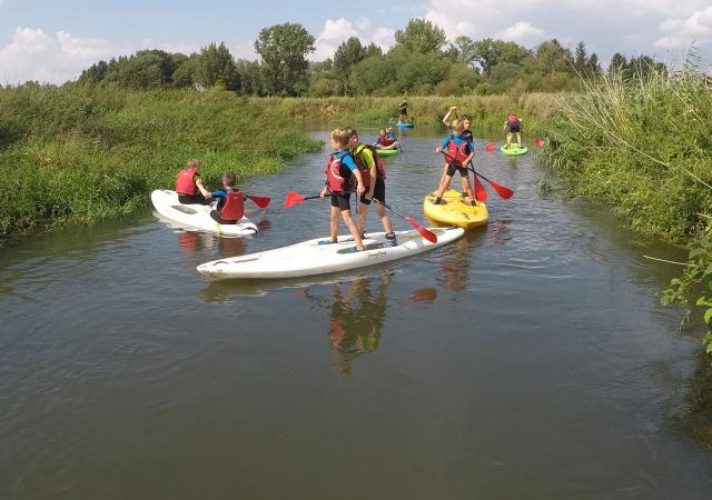 Summer kids Camp, Water & Parkour by Dijle Floats