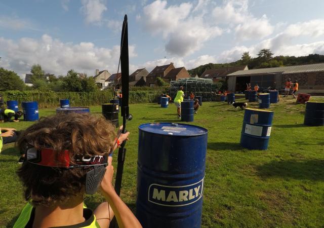 Archery Tag voor Scholen