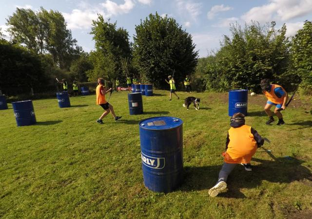 Archery Tag of Dodge Bow voor scholen