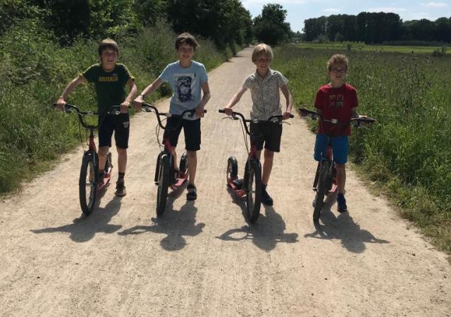 kickbike verhuur te Oud-Heverlee