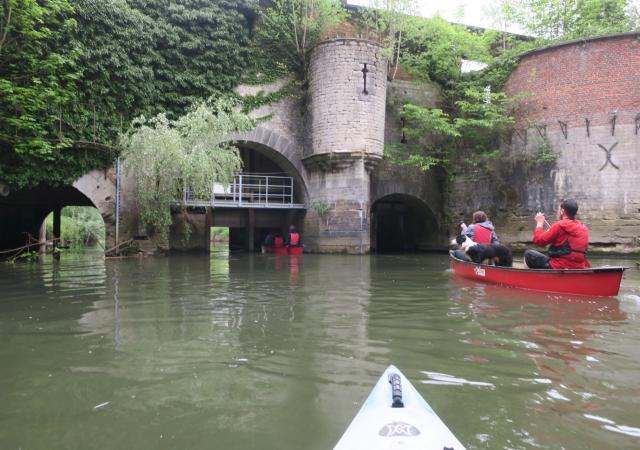 Kano tot Centrum Leuven by Dijle Floats