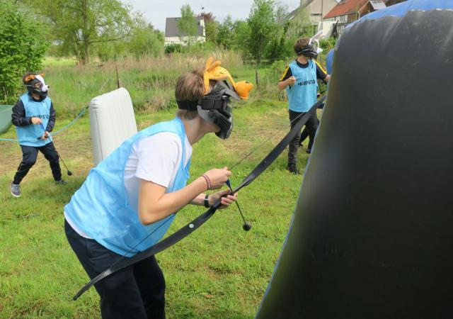Archery Tag Feestje @ Dijle Floats