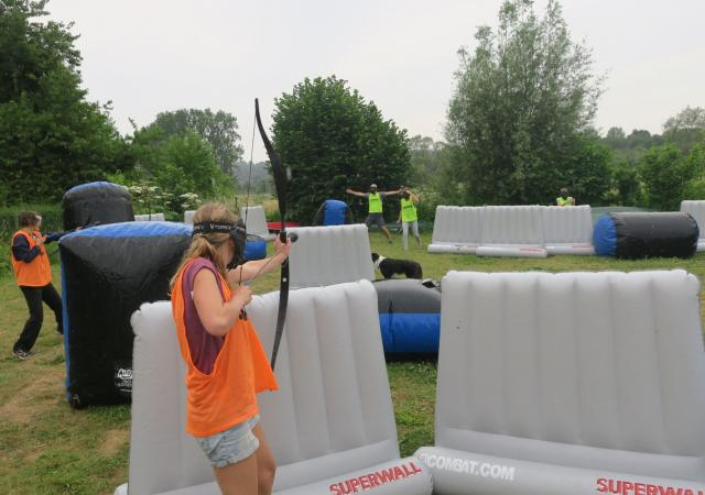 Archery Tag by Dijle Floats