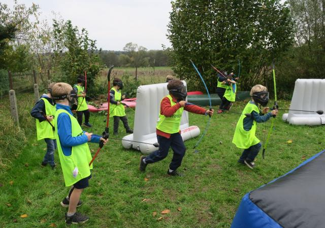 Archery Tag Verhuur @ Dijle Floats