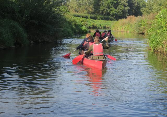 Kano van de Dijle te Korbeek-dijle
