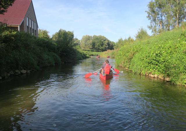 Sportdag kano van de Demer