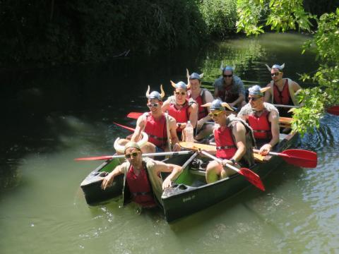 Teambuilding bij Dijle Floats